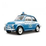12067 - Bburago - Oro Collezione 1:18 Fiat 500 Polizia