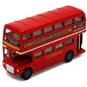 Motormax London Bus Routemaster City Tourist Closed Top Diecast 1:76 Scale