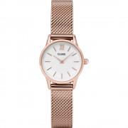 Cluse La Vedette 24 CL50006 horloge Rosé/White