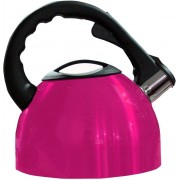 MSE User Friendly Whistling_D9 Electric Kettle(2.5 L, Pink, Black)