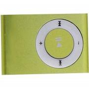 Reproductor De MP3 Portátil De Metal Con 8 Colores De Caramelo No Hay Reproductor De Música De Tarjeta De Memoria Con Ranura TF VERDE