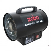 Generator de aer cald pe GPL Zobo ZB-G10, 10 kW, 300 m3/h