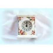 Ceas de birou - floral - 0820