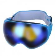 SEA AGRADABLE SNOW4200 anti-vaho gafas de lente esferica de esqui - Azul