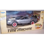 Welly 1/24 Scale Diecast Metal Delorean Time Machine Back to the Future Part III