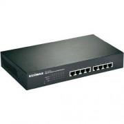 EDIMAX Switch EDIMAX GS-1008P, 8 Portów, 1 Gbit/s, funkcja PoE