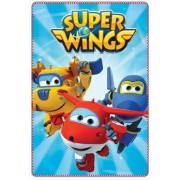 Super Wings polár takaró