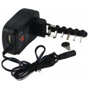 Alimentador Universal 3-12V 1000mA/h (1A) (USB 5V)