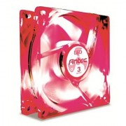 Antec TriCool 80mm Red LED Cooling Fan with 3-Speed Switch
