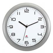 Orologio da parete Easy Time Alba - grigio metallizzato -
