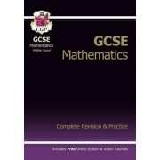 GCSE Maths Complete Revision & Practice with Online Edition - Higher (A*-G Resits) by CGP Books