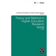 Theory and Method in Higher Education Research by Malcolm Tight