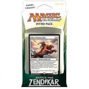 Magic the Gathering: MTG Battle for Zendikar: Intro Pack / Theme Deck: Rallying Cry (includes 2 Booster Packs & Alternate Art Hero of Goma Fada Premium Rare Promo Card) White