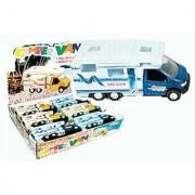Camper Van Motorhome RV 1-pc (Pull-back Action & Opening Doors)