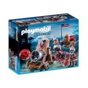 6038 Playmobil Cavaleri Soim Cu Tun De Batalie