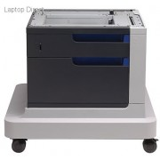 HP Color LaserJet 500-sheet Paper Feeder and Cabinet for HP Enterprise CP4520 printer