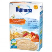 Humana Cereale cu 5 cereale, fructe si iaurt 200 g 8m+