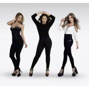 Hollywood Pants Elegante schwarze Hosen im 3er Set, Gr.L