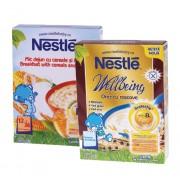 Nestle Pachet Promotional: Cereale orez cu roscove 250 g + Mic dejun cu cereale si miere 250 g