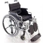 sedia a rotelle / carrozzina pieghevole - struttura leggera con pedane