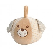 EverEarth 12cm Soft Plush Dog Cuddly Ball Teddy EE33701 by EverEarth