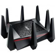 Router Wireless Asus RT-AC5300, Gigabit, Tri-band, 1000 + 2167 + 2167 Mbps, 8 Antene Externe