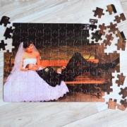 Fényképes puzzle - A4, fekvő, 120db