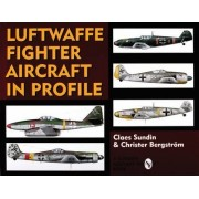 Luftwaffe Fighter Aircraft in Profile by Claes Sundin
