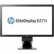Монитор HP EliteDisplay E271i, 27 инча, IPS LED Backlit Monitor D7Z72AA