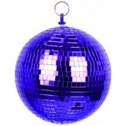 Bola de discoteca roxa Tamanho único