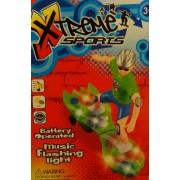 Gördeszkás világítós zenélős önműködő gördeszka No.Q1 - Gyerek játék
