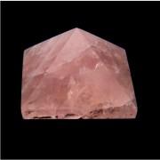 Rózsakvarc piramis #20