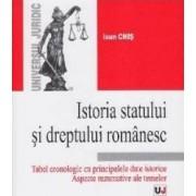 Istoria statului si dreptului romanesc - Ioan Chis