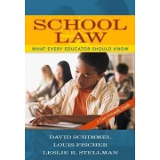 School Law by David Schimmel