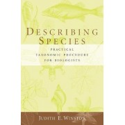 Describing Species by Judith E. Winston