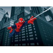 Fototapet Spiderman pentru camera baieti - In actiune