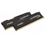 Kingston HyperX Fury Black DDR4 2666MHz 8GB KIT (HX426C15FBK2/8)
