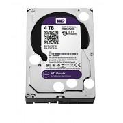"""WD WD40PURX Purple Hard Disk per Videosorveglianza, Intellipower, SATA 6 GB/s, 64 MB Cache, 3.5 """", 4 TB"""