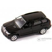 Mașinuță Welly BMW X5 negru, 1:60-64