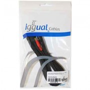 iggual CABLE AUDIO MJACK RCA MM 5Metros