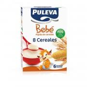 PULEVA BEBE PAPILLA 8 CEREALES 300G