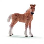 Schleich 2513871 Bashkir Curly Puledro Figurina