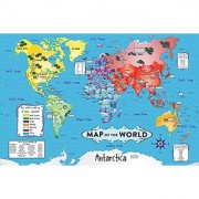 White Mountain Puzzles World Map - 36 Piece Jigsaw Puzzle