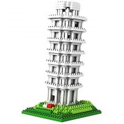 88 Unlimited Leaning Tower of Pisa Building Kit