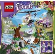 Lego Friends Jungle Bridge Rescue (365pcs) Figures Building Block Toys