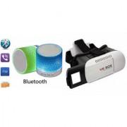 CLONEBEATZ Music Mini Bluetooth Speaker(S10 Speaker) And VR Box for SAMSUNG GALAXY WIN PRO