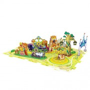Cubic Fun Amusement Park Journey, K1002h 59 pieces