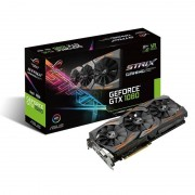 Asus Strix GeForce Gtx 1080 8GB GDDR5X Dvi-D Hdmi 2x DisplayPort Pci-E