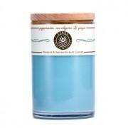 Massage & Aromatherapy Candle - Peppermint Eucalyptus & Ginger 12oz Massage & Aromatherapy Свещ - Peppermint Eucalyptus & Ginger