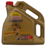 Castrol POWER 1 4T 20W-50 4 Litre Can